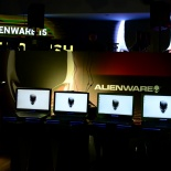 alienware launch party 14 Display of AW 15 and 17