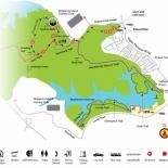 Macritchie Singapore parkmap