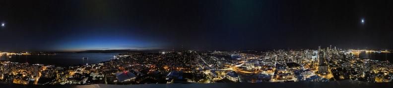 panorama space needle night web