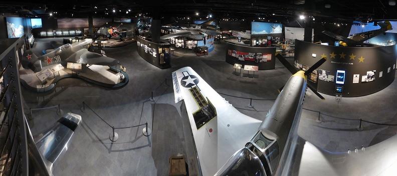 museum of flight panorama vintage