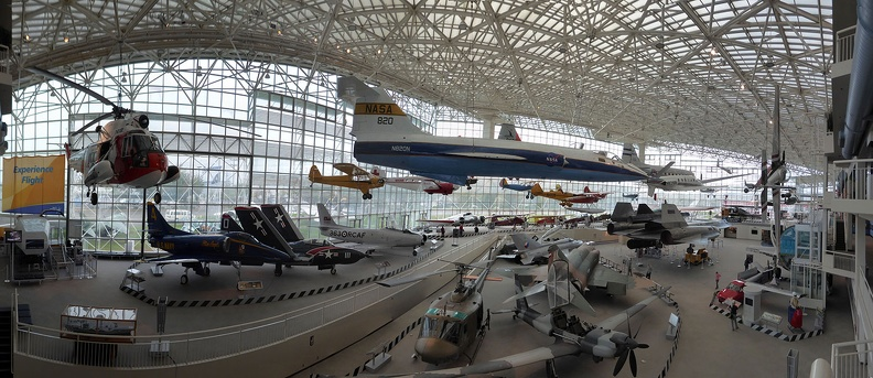 museum of flight panorama modern