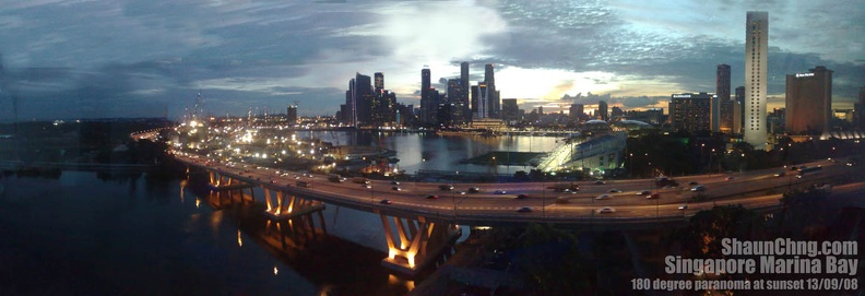 sc marina bay skyline2008 stitch