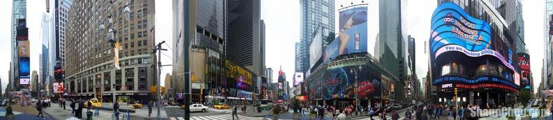 sc times square newyork panorama