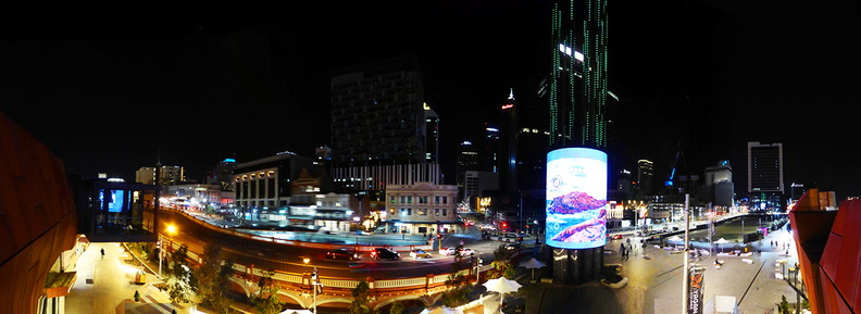 Perth City Center night