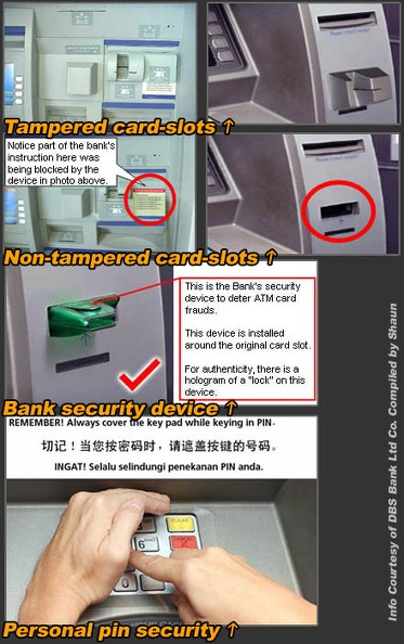 DBS ATM Security Info