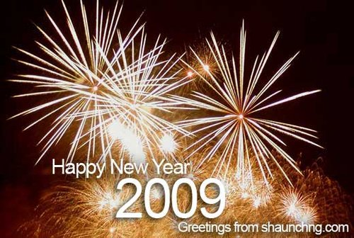 Happy New 2009 from Shaunchng.com!