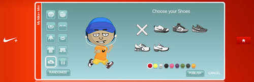 Create your own Nike Mini Avatar