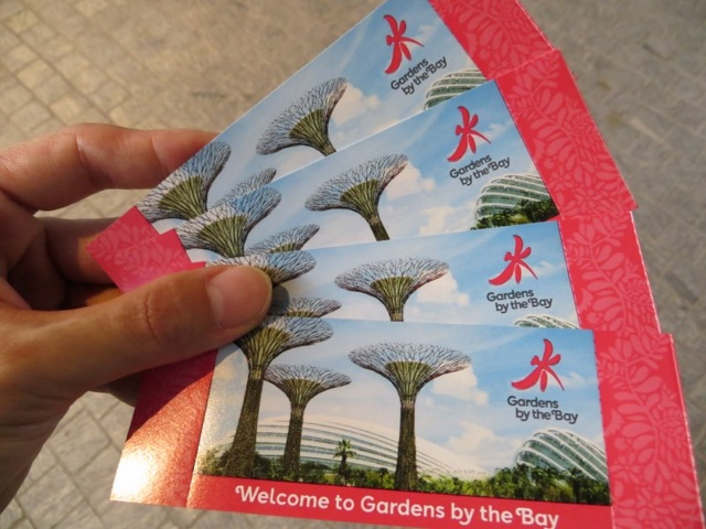 Garden By The Bay Entrance Fee Singapore