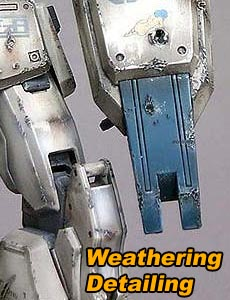 Weathering your plastic model kit