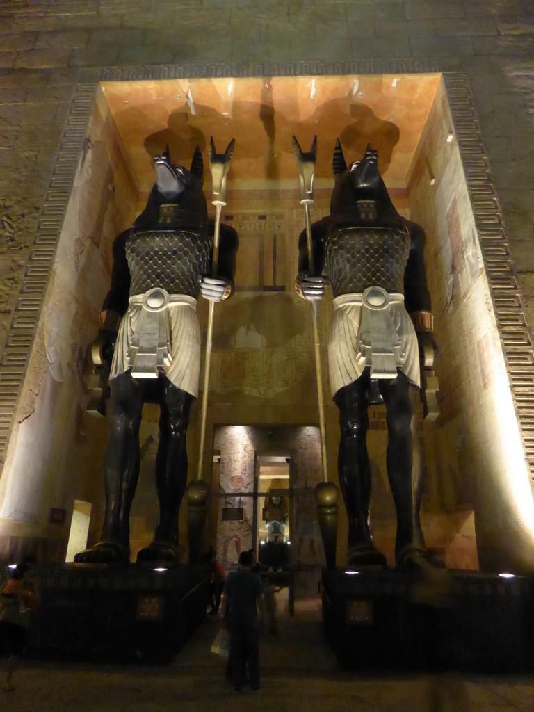 Universal Studios Singapore Ancient Egypt and Sci-Fi City