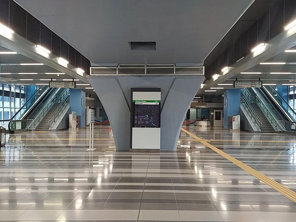 New Kuala Lumpur Sungai Buloh Kajang MRT, Malaysia