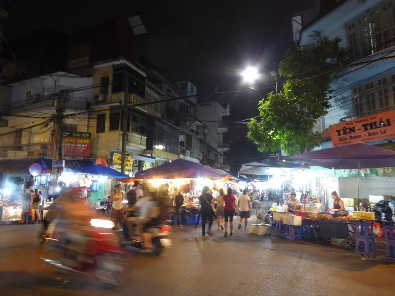 Hanoi City, Vietnam, Old Quarters, Food and Night Markets - ShaunChng.com