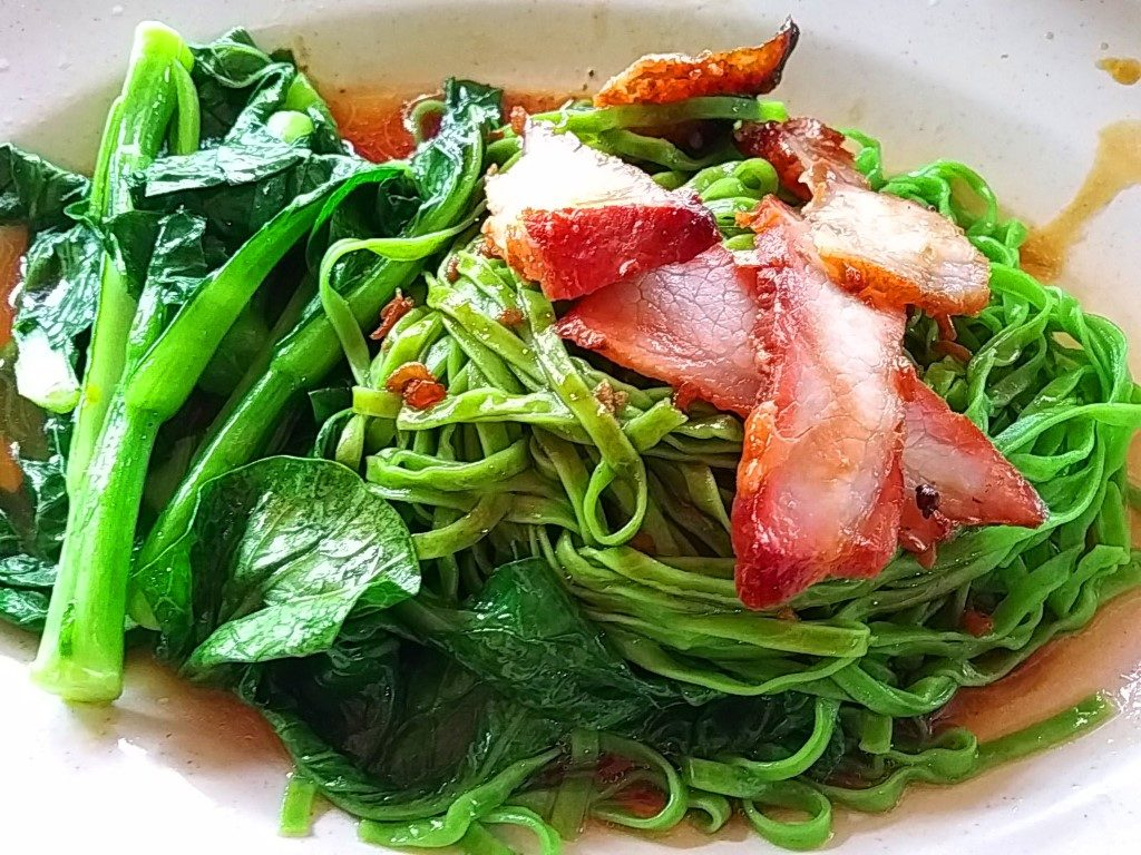 Wong kee Green noodles selection