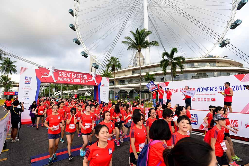 Great Eastern run Singapore flyer