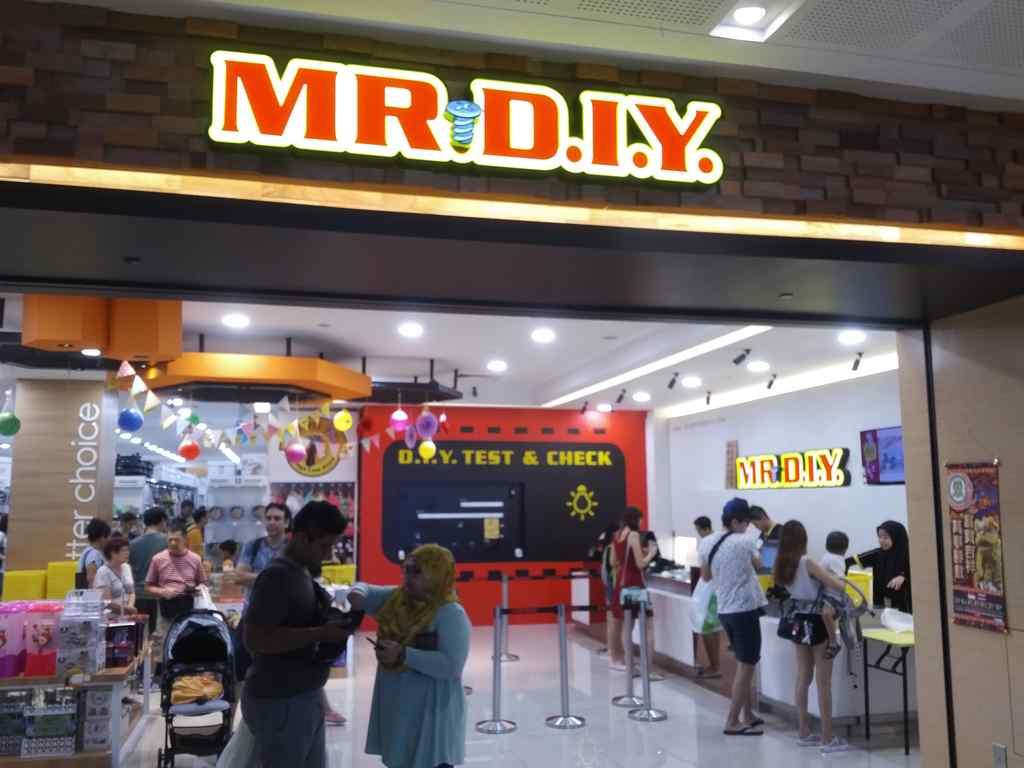 Mr DIY store Westgate Singapore - ShaunChng com