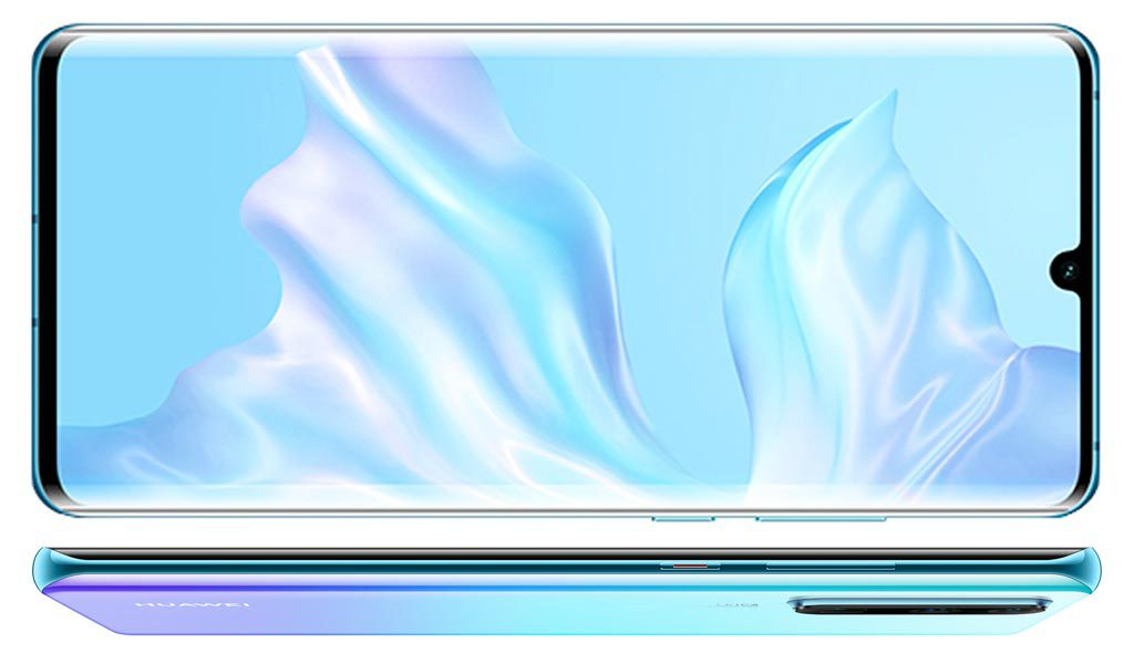 The Huawei P30 Pro with its phablet-sized 6.47