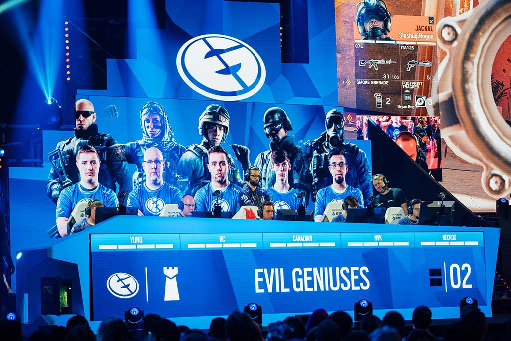 Evil Geniuses COD team