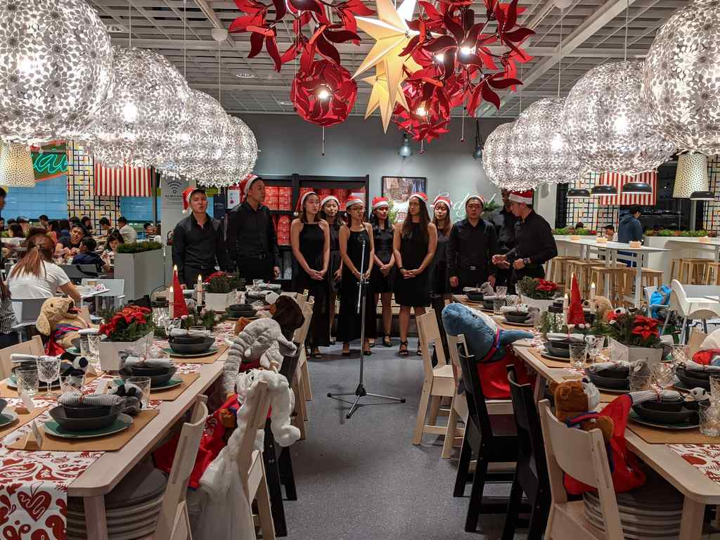 Ikea Julbord Christmas Buffet Christmas carols