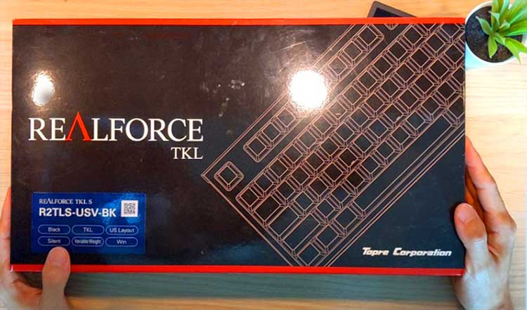Realforce TKL capacitive keyboard is a joy!