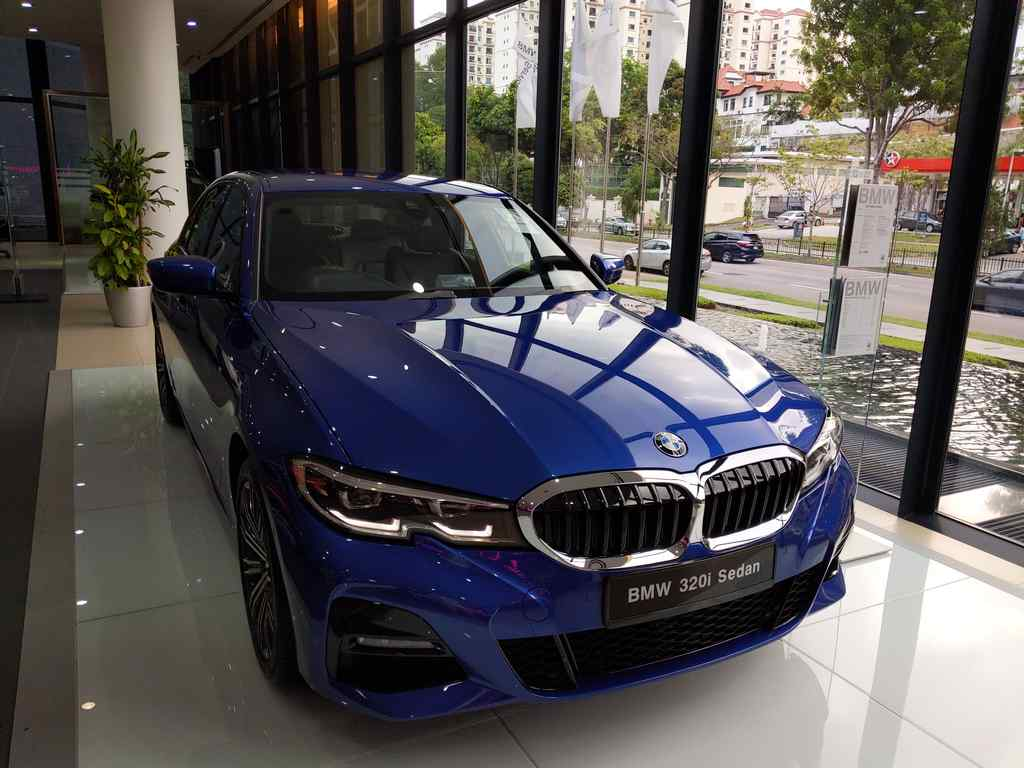 The 3 series, BMW most sellable model at the showroom ground floor