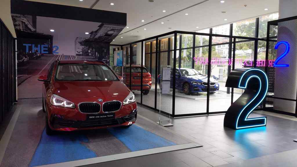 BMW Performance Motors Limited showroom 2 series sector