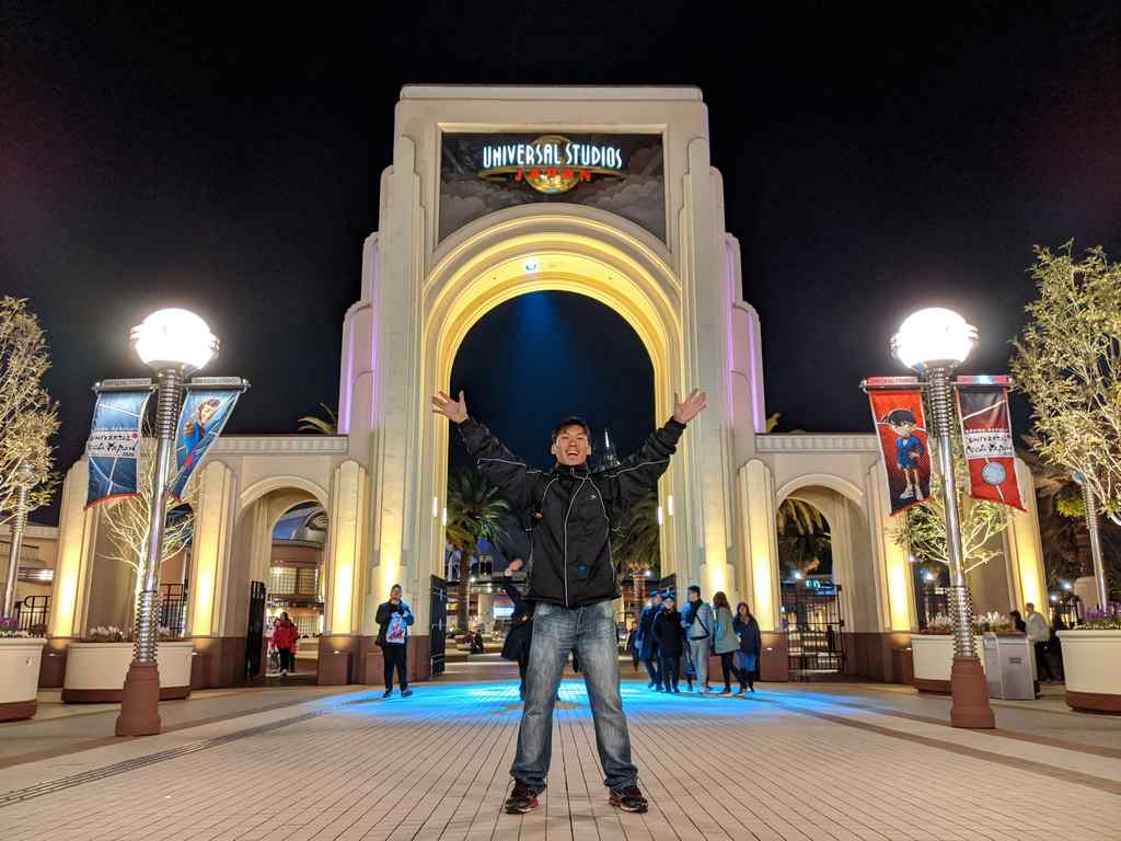 Greetings from Universal Studios Osaka theme park