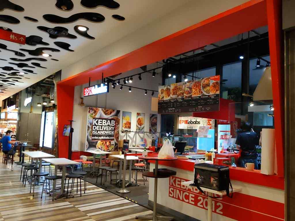 Epikebabs kebabs store in the Rochor neighbourhood at the Wilkie building