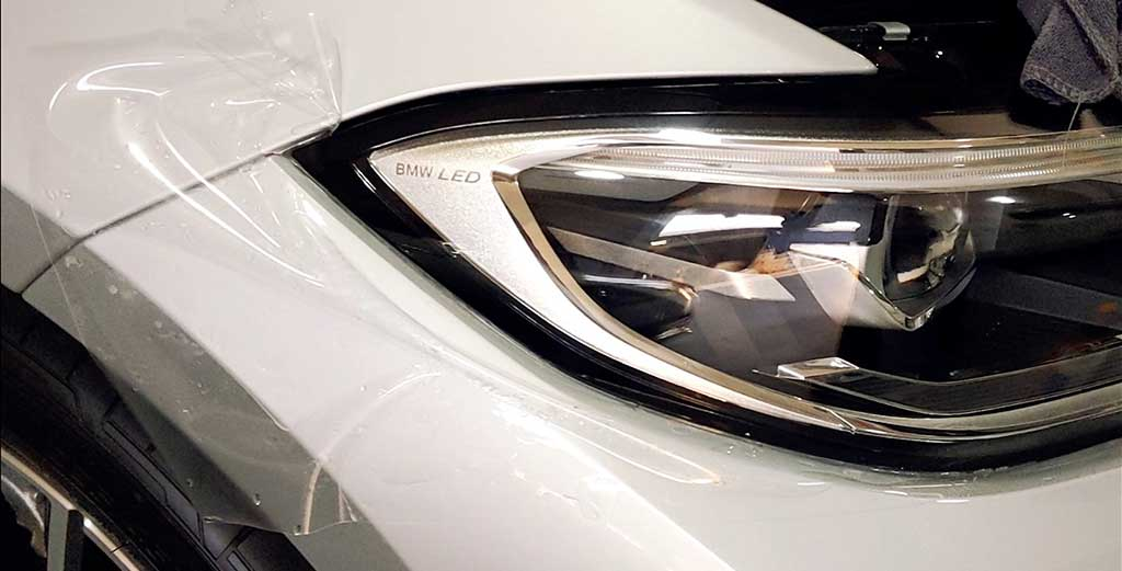 BMW 3-Series 5 enhancements Body protection film is a good investment to protect bodywork and headlamps against day to day road wear