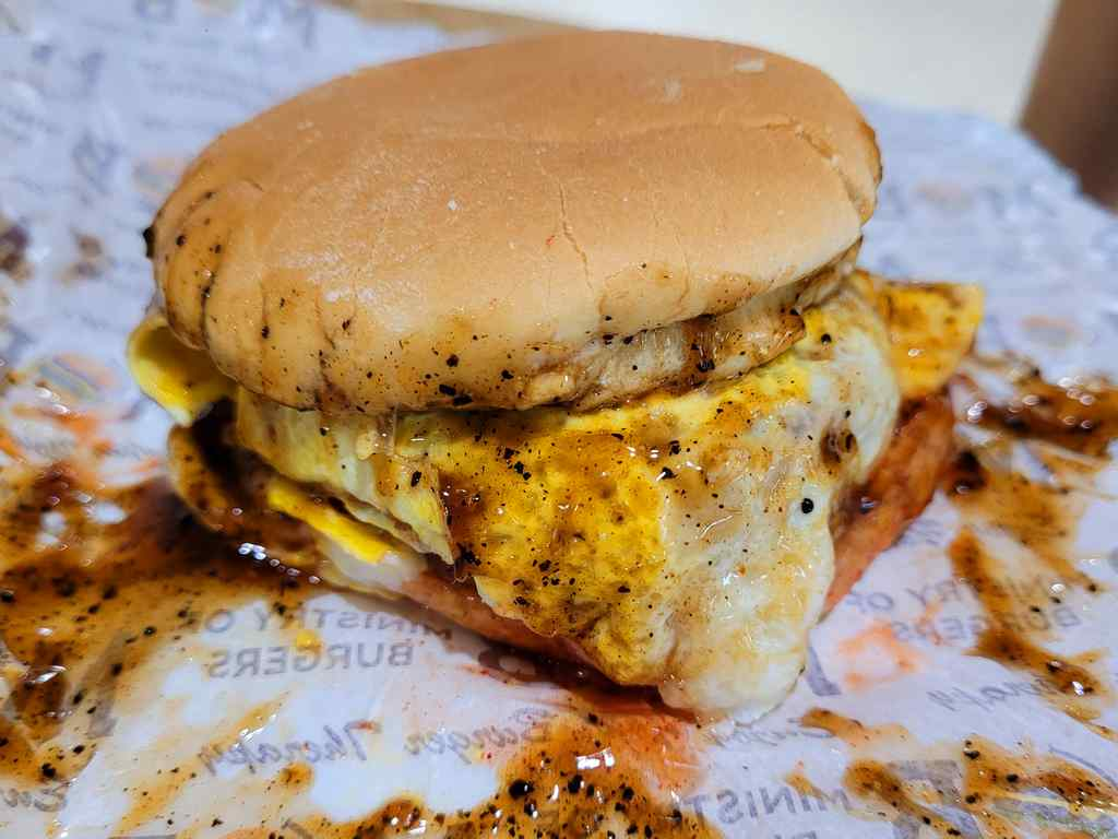 Ramly burgers are messy, but that's what makes a Ramly a Ramly