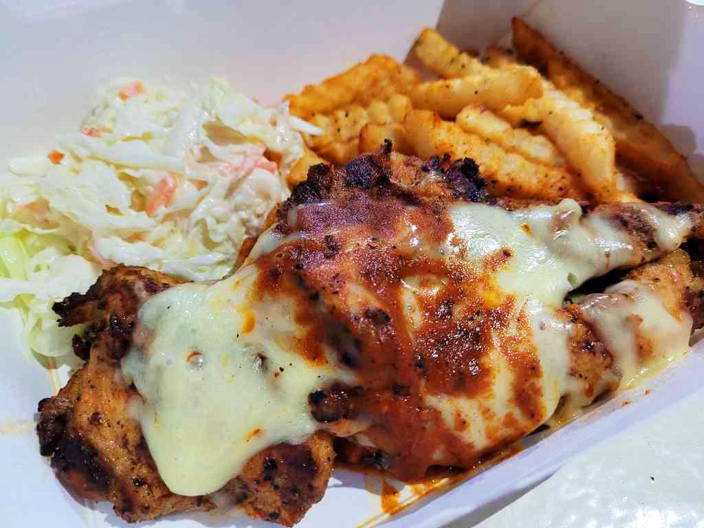 Original Botak Jones cheesy Cajun Chicken